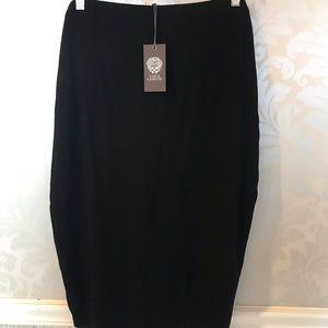Vince Camuto XL NWT black  pencil skirt stretch